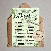 Insect, Bugs Scavenger Hunt Printable