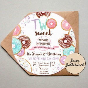 TWO Sweet Invite