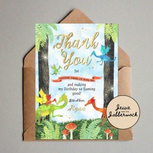 Dragons Thank you Note