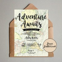 Adventure Awaits Map Invite