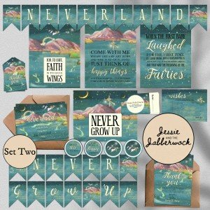 Fly away to Neverland Baby Set