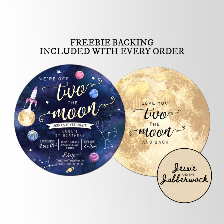 TWO the Moon Invite