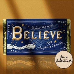 Believe Chocolate Bar