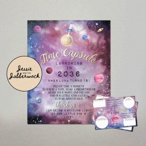 Space, Galaxy Time Capsule